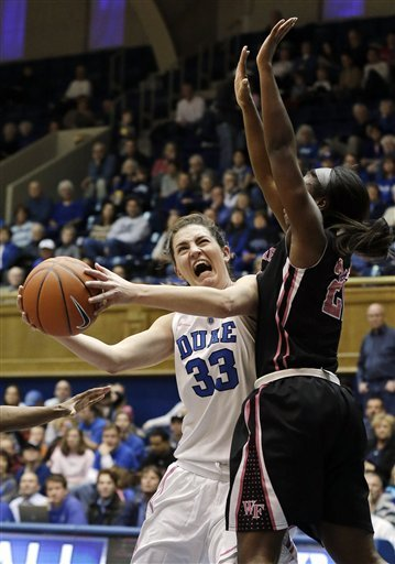 No. 5 Duke women lose Gray, beat  Wake 81-70