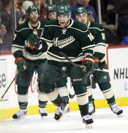 Zucker's scores as Wild rally to beat Red Wings