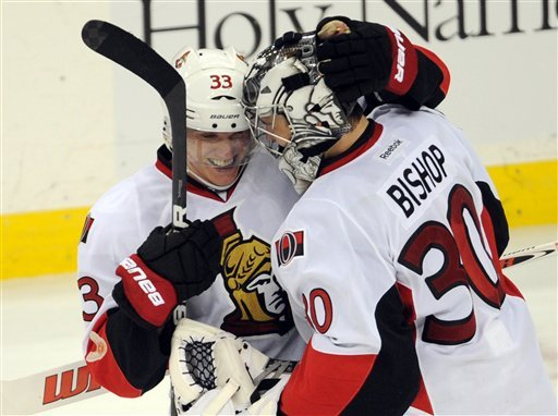 Silfverberg, Bishop help Senators top Devils in SO