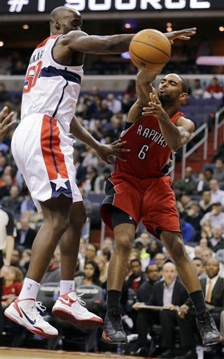 Raptors deal with broken clock, top Wizards 96-88