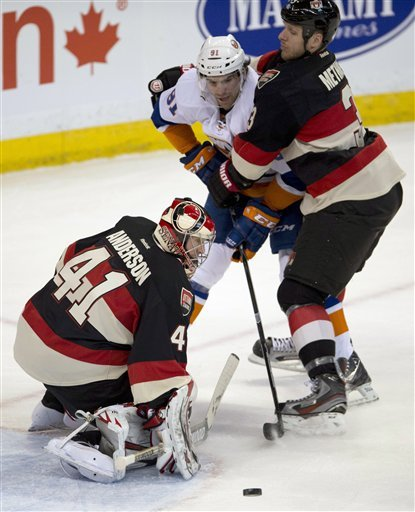 Senators too much for Islanders 3-1
