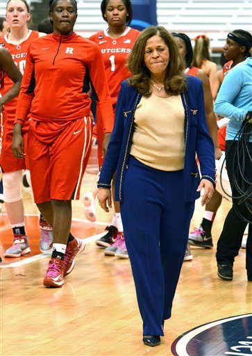 No. 21 Syracuse women beat Rutgers 58-45