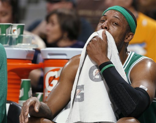 Paul Pierce is averaging 18.3 points this season. (AP)