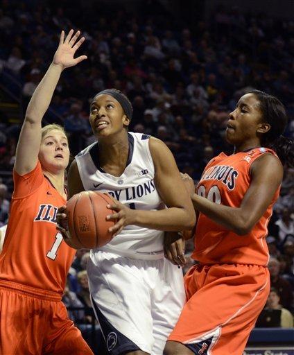 No. 7 Penn State women overwhelm Illinois 95-62