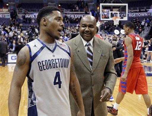 DSR scores 33; No 11 Georgetown tops DePaul 90-66