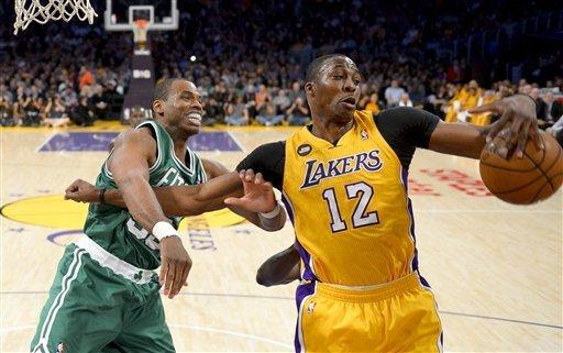 Lakers beat Celtics 113-99 on emotional night