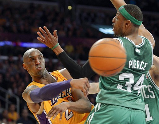 Lakers beat Celtics 113-99 on emotional night
