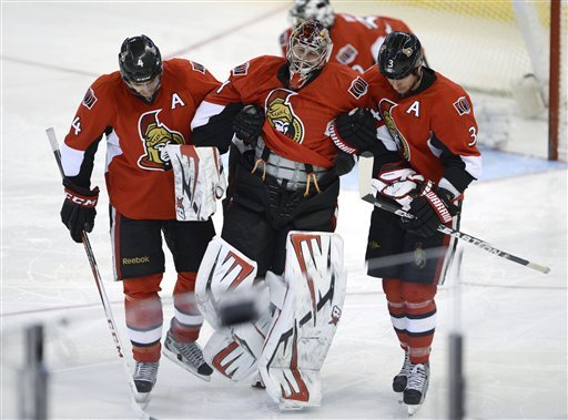 Senators top Rangers in shootout 3-2