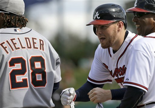 Cabrera duels with Kimbrel, Tigers beat Braves 2-1