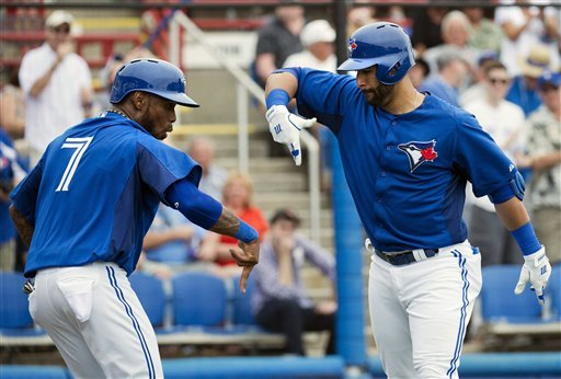 Buehrle allows 2-run homer in Blue Jays debut
