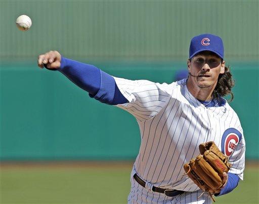 Samardzija, Cubs win home spring opener
