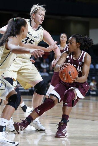 Clarke helps Vandy women upset No. 10 Texas A&M