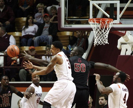 Virginia Tech tops Florida State 80-70, ends skid