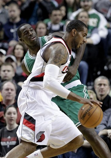 Matthews scores 24 as Blazers beat Celtics 92-86