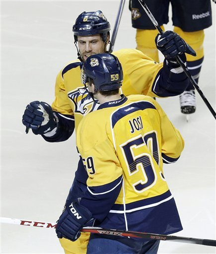 Josi scores 2nd in OT as Predators beat Stars 5-4