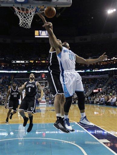 Williams, Lopez lead Nets past Hornets, 101-97