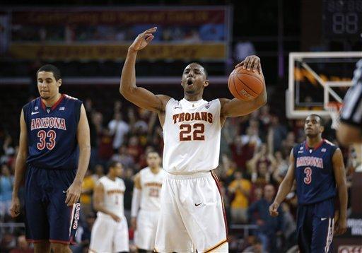 Wise scores 22 as USC beats No. 11 Arizona 89-78