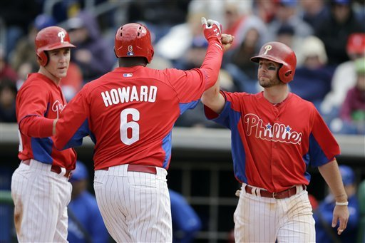 Howard HR exits stadium in Phils' 13-5 win