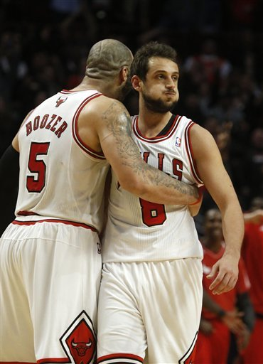 Belinelli lifts Bulls over Jazz 89-88