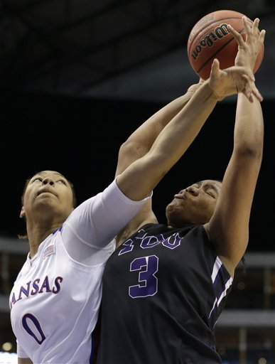 Kansas women eliminate TCU 83-61