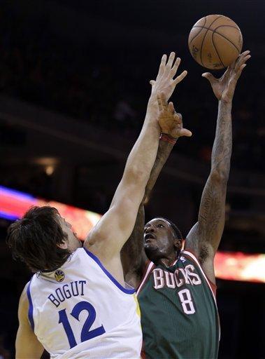 Jennings, Ellis lead Bucks past Warriors, 103-93