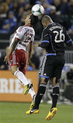 Earthquakes rally for 2-1 victory over Red Bulls