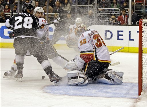 Brown leads surging Kings past Calgary again, 3-1