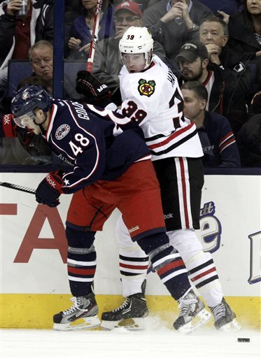 Kane's SO goal lifts Blackhawks over Columbus, 2-1