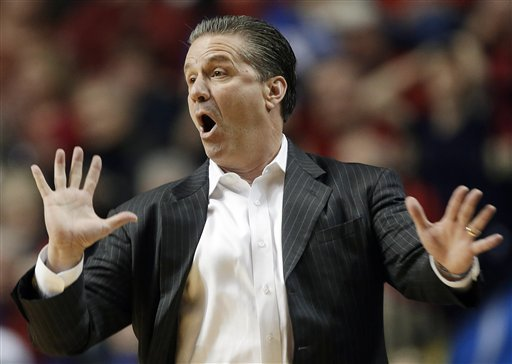 John Calipari's Wildcats were relegated to the NIT last season. (AP)