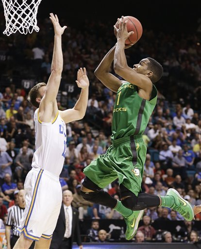 Oregon beats No. 21 UCLA 78-69 for Pac-12 title
