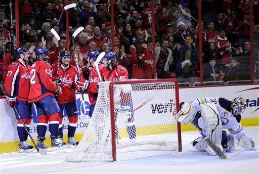 Caps snap scoring slump in 5-3 win over Sabres