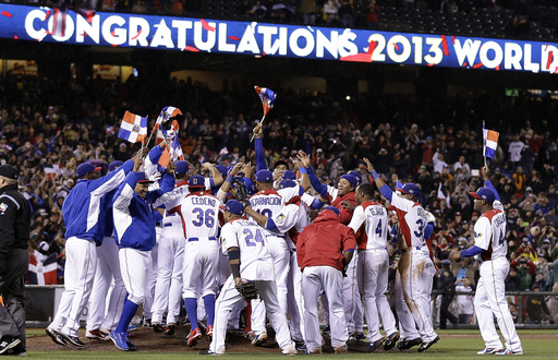 The Dominican Republic finished 8-0 in the World Baseball Classic (AP)
