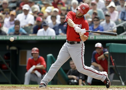 Harper has 4 RBIs, Nationals beat Marlins 7-5
