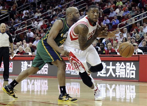 Rockets beat Jazz 100-93 to help playoff standing