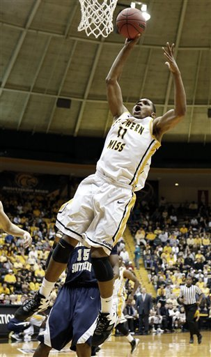 Southern Miss tops Charleston Southern, 78-71