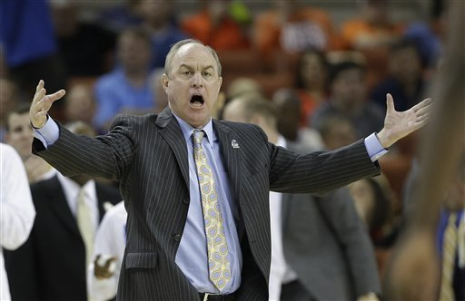 Ben Howland reacts to a call during the NCAA tournament. (AP)