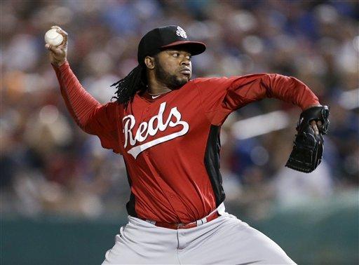 Cueto, Samardzija solid as Reds beat Cubs 11-1