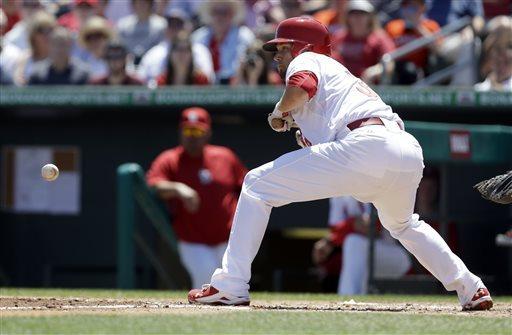 Cardinals' Lynn has his best start of spring