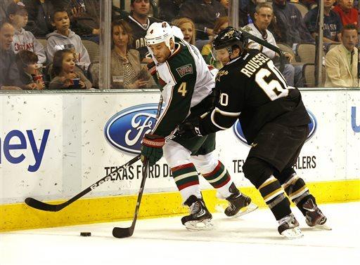 Stars end Wild's 7-game win streak