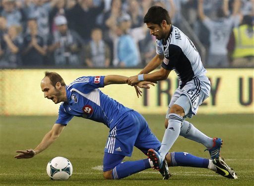Sporting KC hands Impact their 1st loss, 2-0
