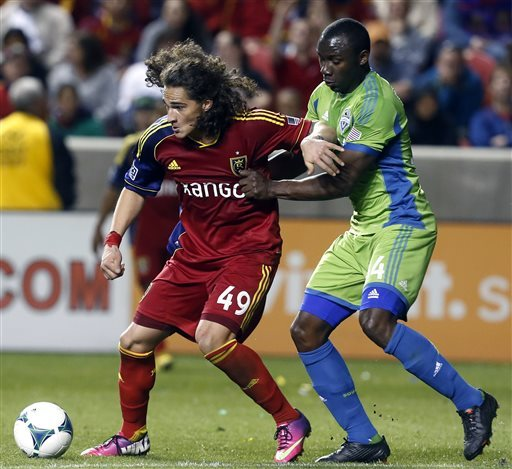 RSL claims 1st home win of '13, 2-1 over Sounders