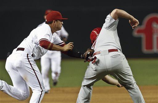 Kennedy, D-backs beat Wainwright, Cardinals 6-2