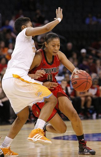 Louisville women Final Four bound with 86-78 upset
