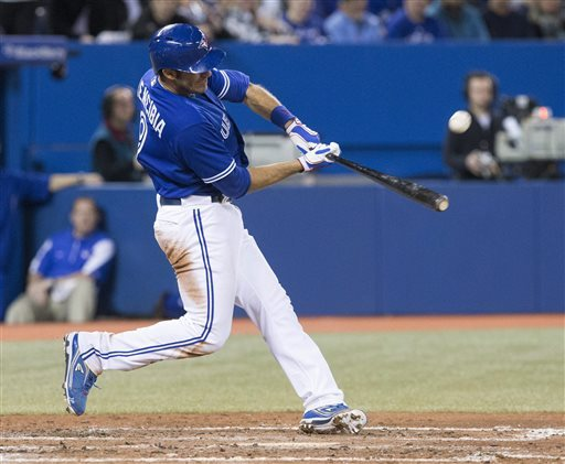 Arencibia homers twice as Blue Jays beat Indians