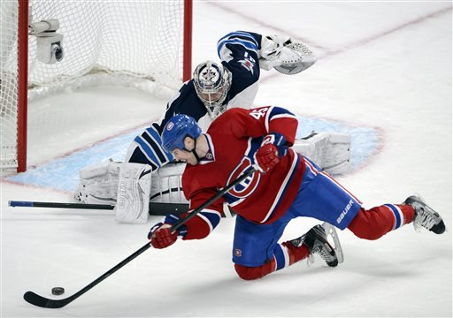 Canadiens hand sliding Jets 5th straight loss