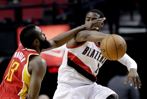 Rockets defeat Blazers 116-98
