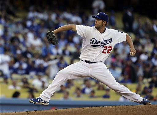Kershaw 2-hits Bucs over 7, Ks 9 in Dodgers' win