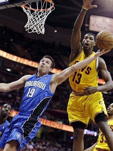 Gee, Thompson lead Cavaliers past Magic, 91-85