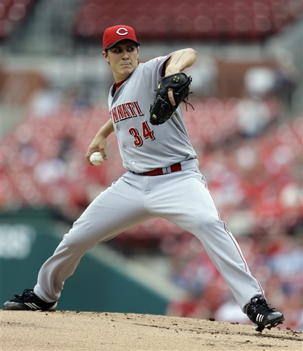 Westbrook throws shutout, Cards tee off on Reds