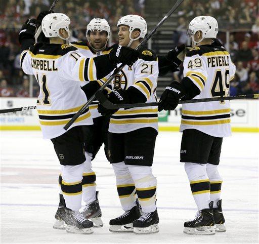 Bruins extend NJ woes,  regain 1st in Northeast